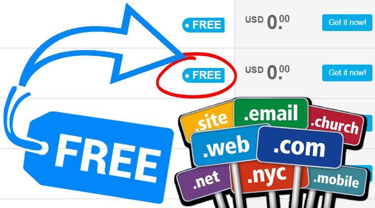 2020年免费域名(Free Domain Name)大全